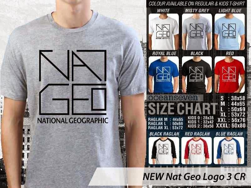 Kaos National Geographic NEW Nat Geo Logo 3 distro ocean seven