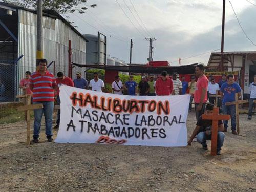 Mintrabajo sanciona a Halliburton por violar derechos laborales y de salud