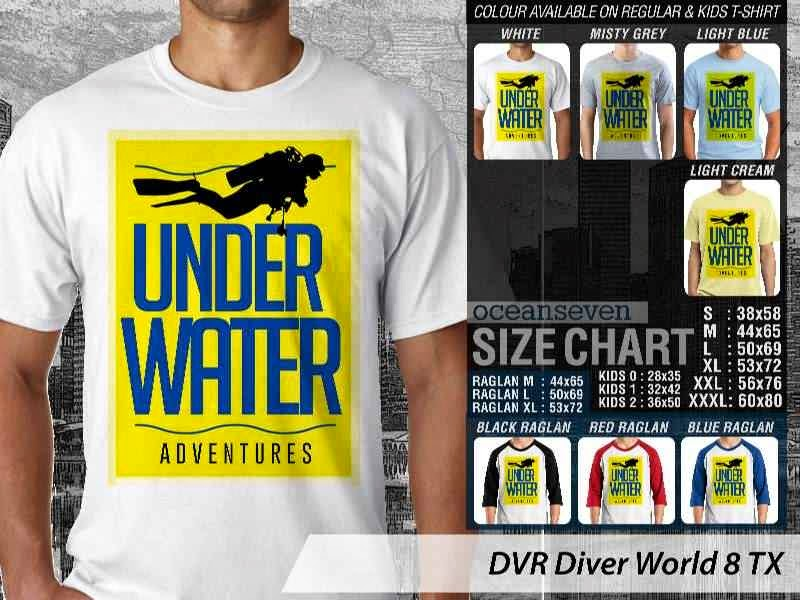 Kaos DVR Diver World 8 TX distro ocean seven