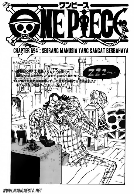 One Piece 694 695 page 1 Mangacan.blogspot.com