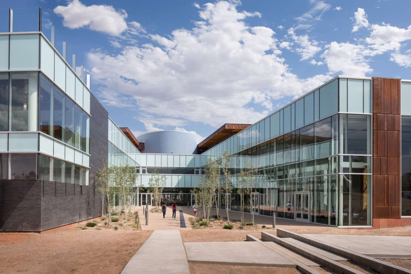 New Mexico Highlands University new student center by