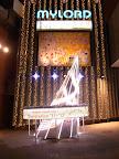 新宿ミロード(モザイク坂)入口のクリスマスイルミネーション2011