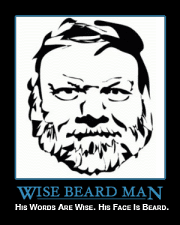 wise beard man