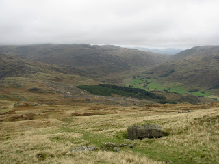 Wrynose Bottom from Harter Fell