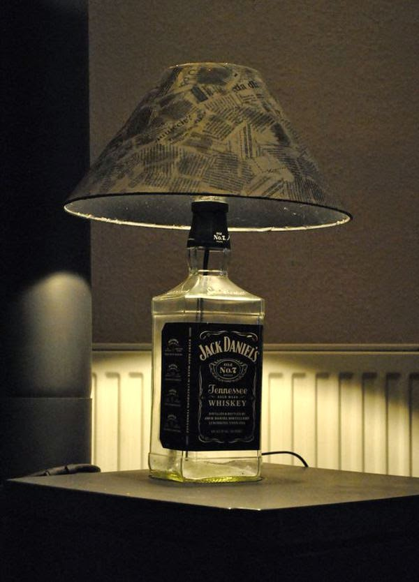 Meanwhile, in Alabama - and the newspaper lamp shade is a nice touch too