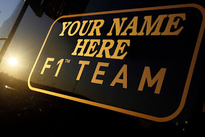 Your Name Here F1 Team - фотошоп на тему названий Lotus by Nouky