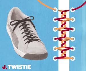 Memasang Tali Sepatu dengan Trik Twistie