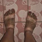doszczętnie brudne nogi - no nie, znowu?!