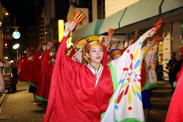 第60回よさこい祭り☆本祭2日目・上町競演場22☆上2目2751