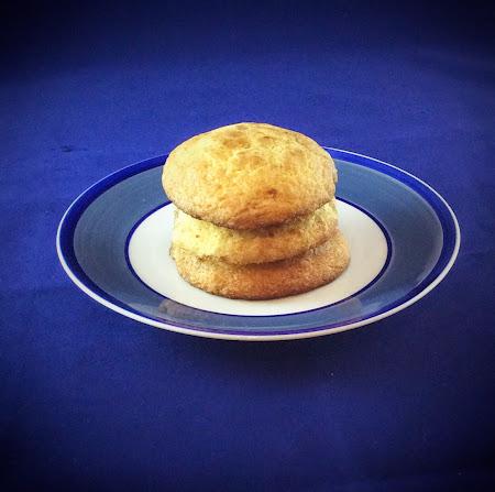 Ciastka ciasteczka deser sniadanie Snickerdoodle cyan on