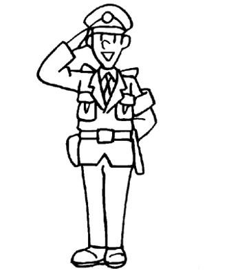 Emergency vehicles coloring pages printable games - police car coloring pages