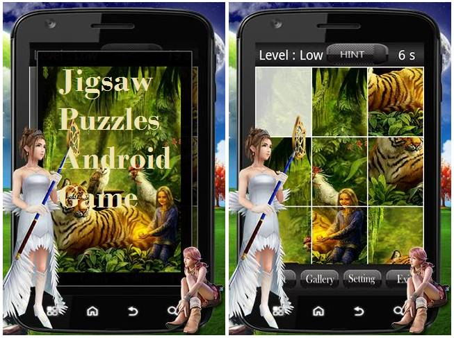 Jigsaw Puzzles Android Game Source Code