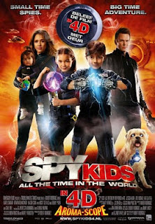 Điệp Viên Nhí 4 : Thế Giới 4d - Spy Kids 4: All The Time In The World 4d