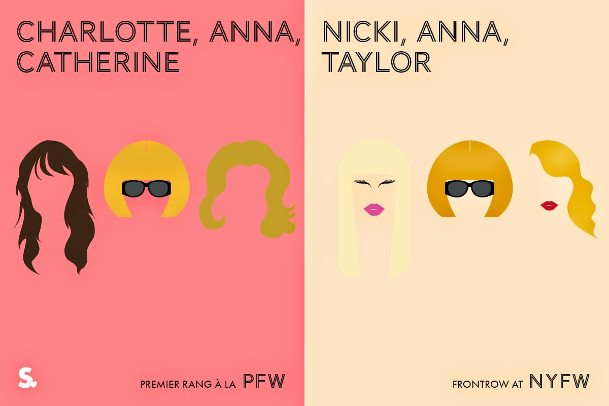 Image of Image of Paris VS New York Fashion Week Infographic 9