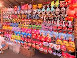 Overpriced masks for the kids, at the Nagoshi-sai festival