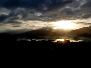 Sunlight over Derwentwater
