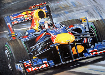 Себастьян Феттель Red Bull RB6 by Roman Goloseev