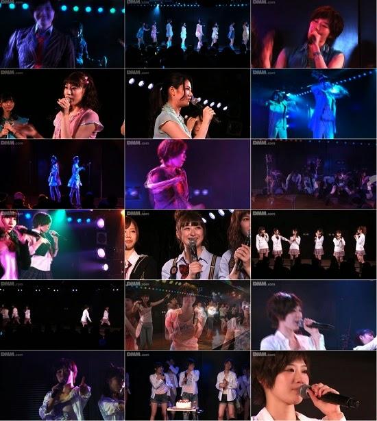 "(LIVE)(公演) AKB48 チームB ""パジャマドライブ"" 田名部生来の生誕祭 141212"