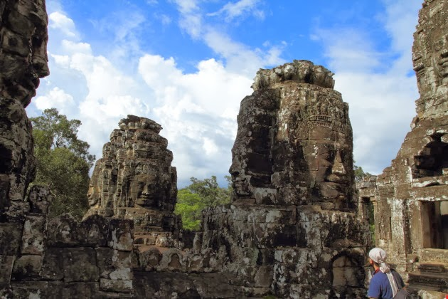 The stunning Bayon Faces, Angkor Thom, Siem Reap, Cambodia