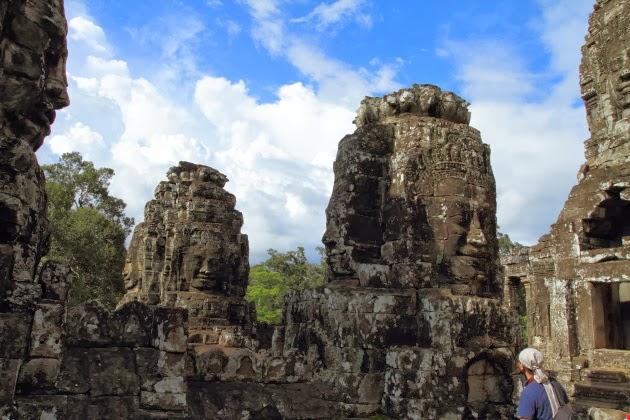 The stunning Bayon Faces, Angkor Thom, Siem Reap, Cambodia
