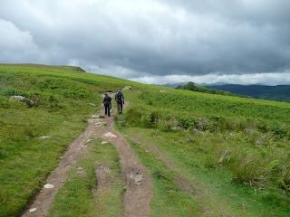 It was a slow climb to Arthurs Pike.