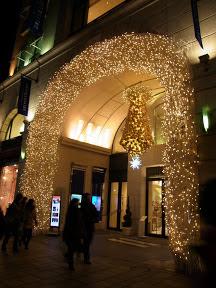 アニヴェルセル表参道のクリスマスイルミネーション2012
