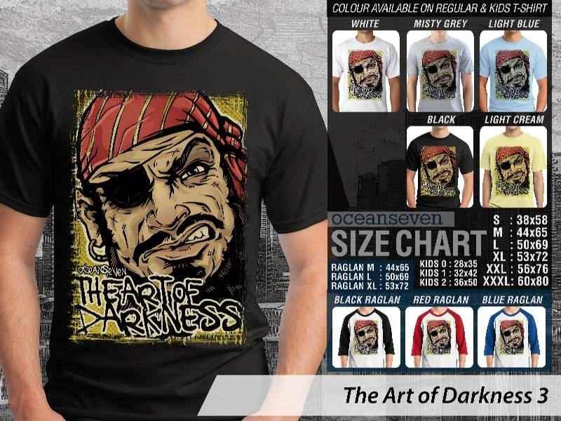 KAOS keren pirate Bajak Laut The Art of Darkness 3 distro ocean seven