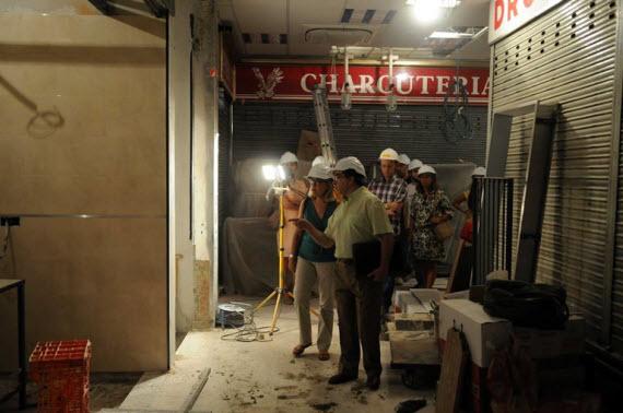 Obras de mejora en los mercados municipales de San Pascual y de la Paz