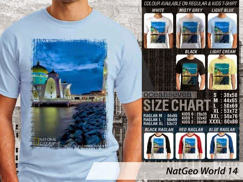 Kaos National Geographic NatGeo World 14 distro ocean seven