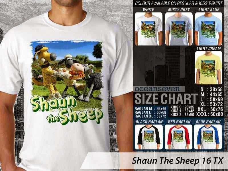 Kaos Movie Shaun The Sheep 16 distro ocean seven
