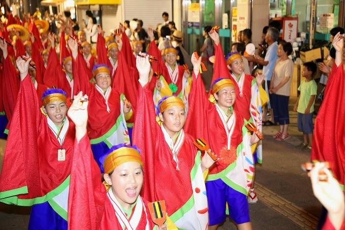 第60回よさこい祭り☆本祭2日目・上町競演場28☆上2目2766