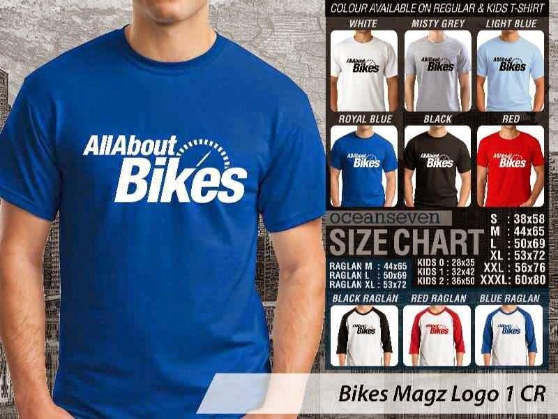 Kaos Magz Bikes Magz Logo 1 Majalah & Media distro ocean seven