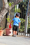 Our toddlers love being able to take care of the plants in their garden area. Watering is a regular favorite activity.