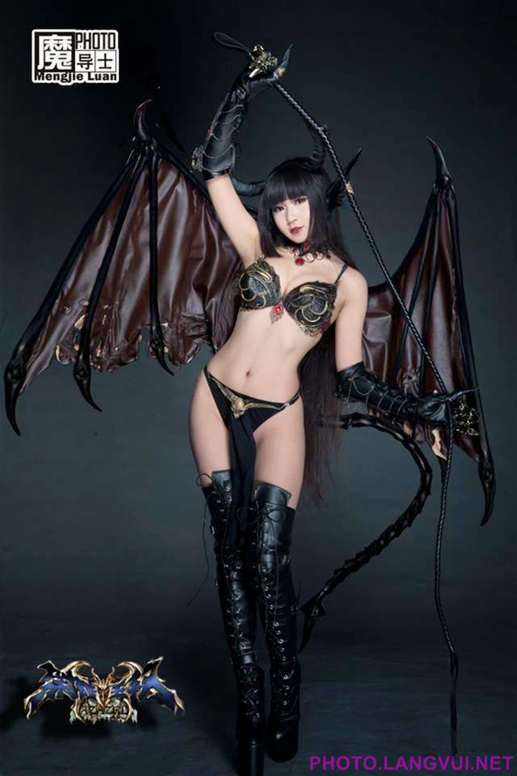 Cosplay demon fuck photo adult gallery
