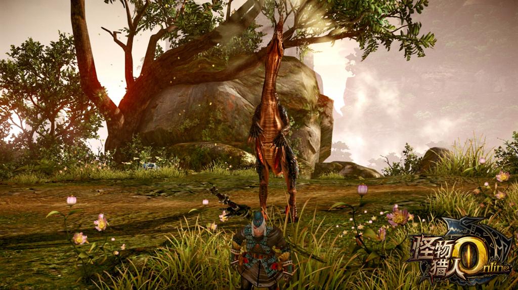Tencent tung trailer giới thiệu Monster Hunter Online 3