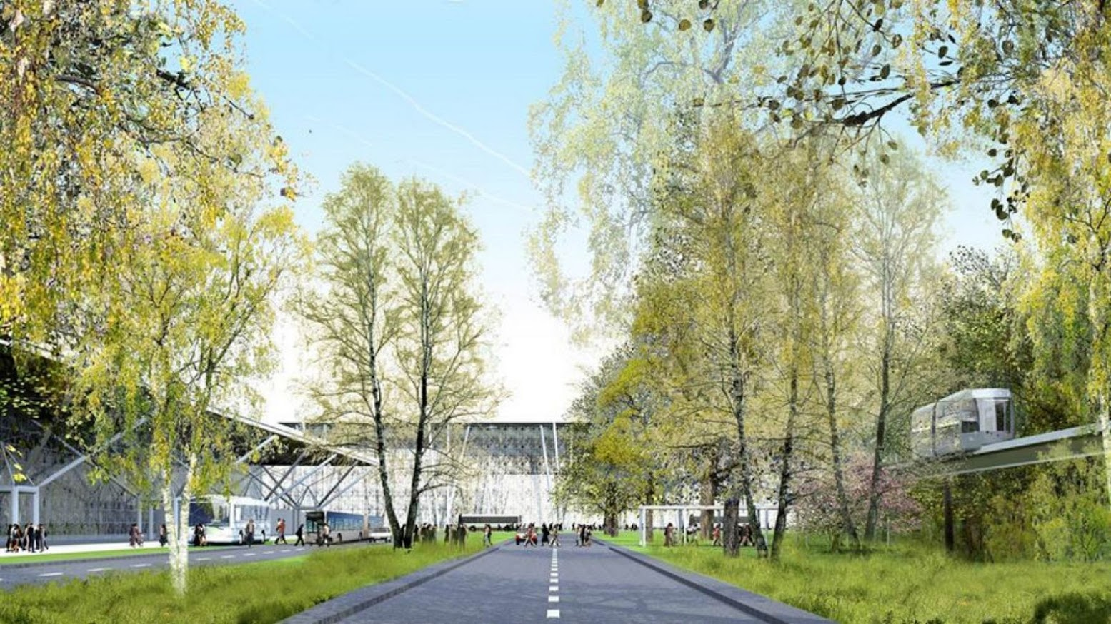 Stansted, Essex, Regno Unito: [STANSTED AIRPORT CROSSRAIL BY AVERY ASSOCIATES ARCHITECTS]