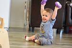 LePort Preschool Huntington Beach - Happy baby at Montessori daycare