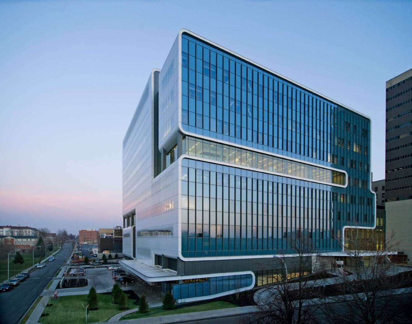 Kaleida Global Vascular Institute by Cannon Design