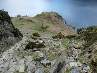 Steep path to Crummock Water
