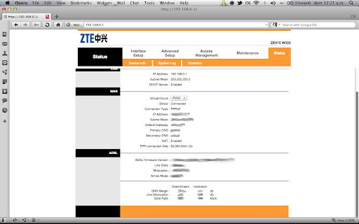 Configuración del Router ZTE ZXV10 W300 de ETB - Colombia