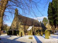All Saints Church - Curbar