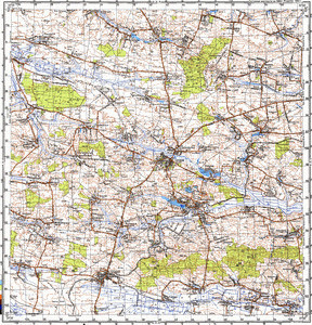 Map 100k--m35-050--(1989)