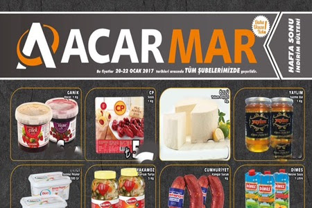 Çankırı Acarmar Marketlerde 20-22 Ocak Hafta Sonu İndirimleri