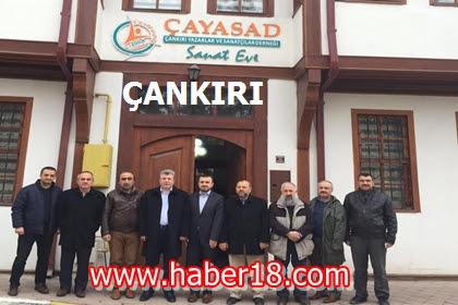 Çankırı Milletvekili Akbaşoğlu Bir Dizi Ziyaretlerde Bulundu.