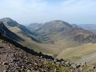 Looking down Ennerdale from Windy Gap.