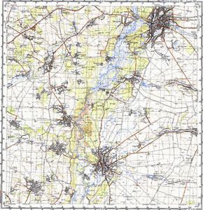 Map 100k--m36-070--(1984)