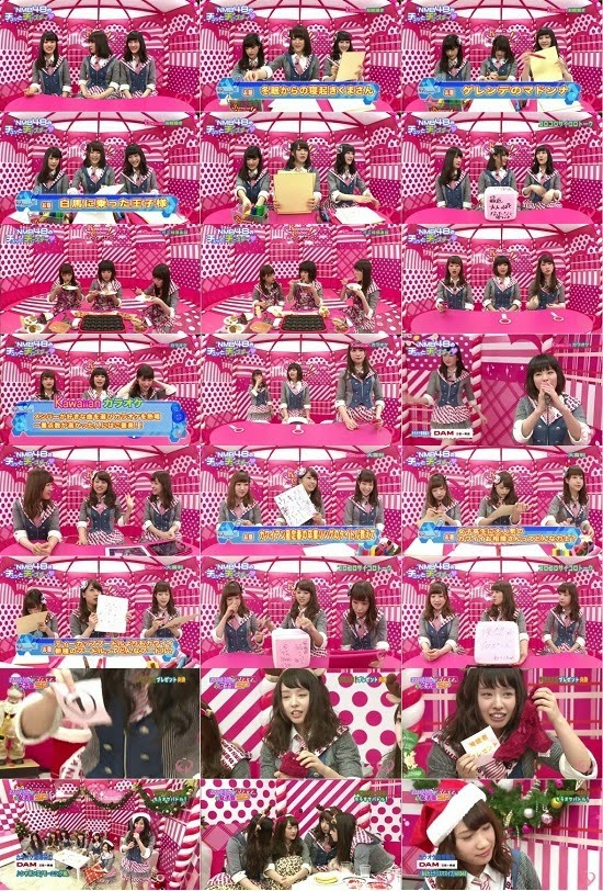 (TV-Variety)(720p) NMB48 – Kawaiian Clubee! ep62 ep67 ep72 & Christmas Special
