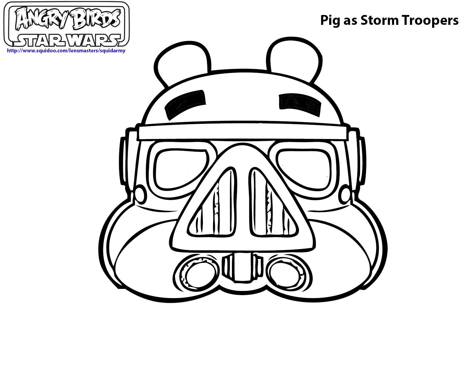 Top 25 Free Printable Star Wars Coloring Pages  - star wars coloring pages printable