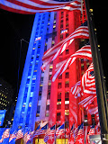 On election night at 30 Rock, they'll light up the building to show which candidate breaks 270 electoral votes
