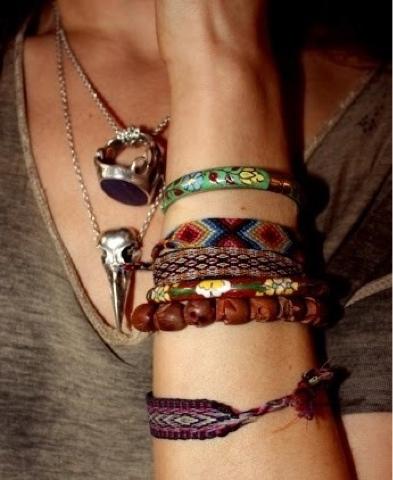 Bijoux tendances boho-chic